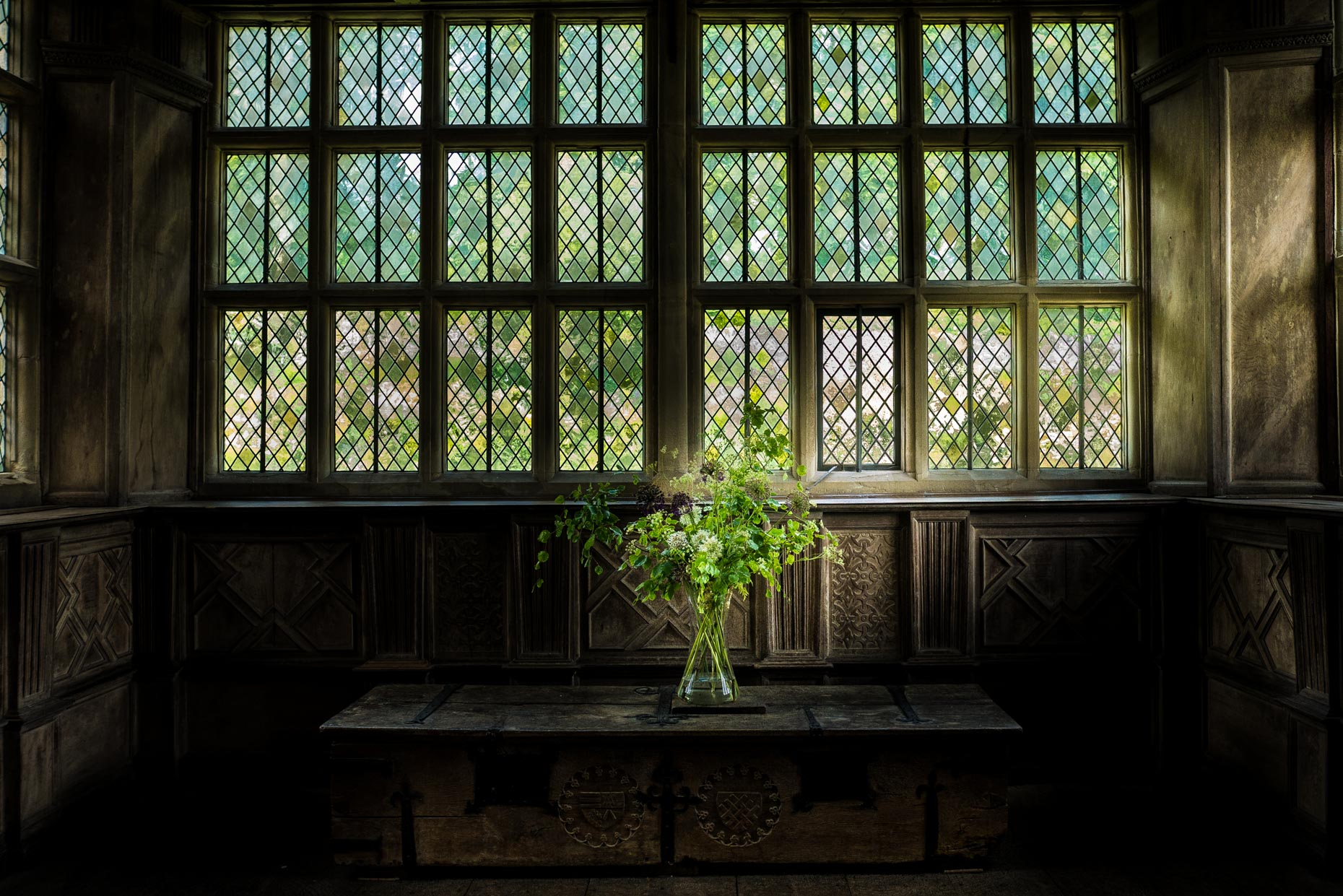 Flowers,  Haddon Hall