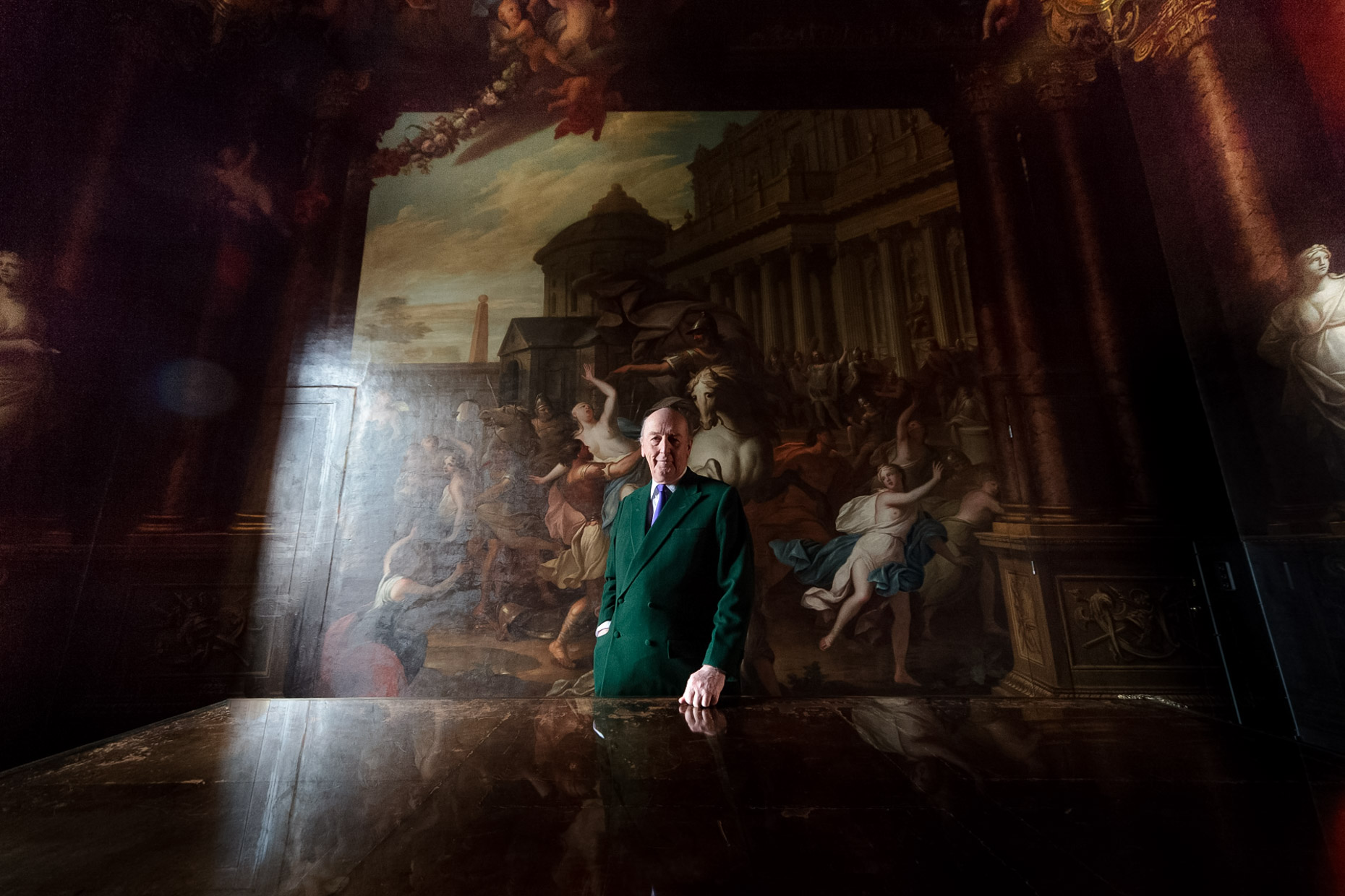 The Duke of Devonshire_chatsworth_house